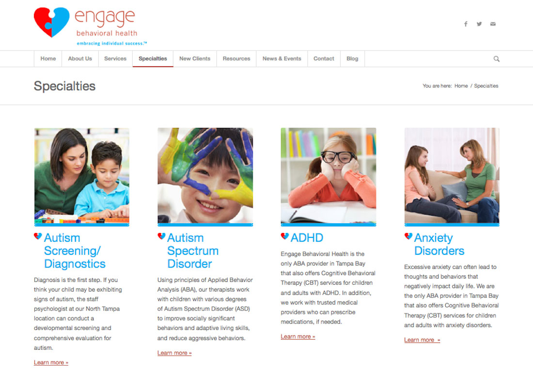 Engage Website